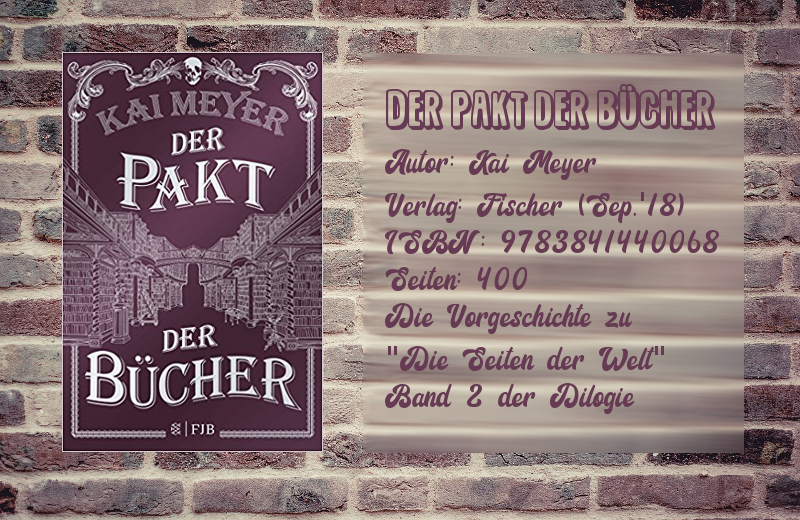 Rezension: Der Pakt der Bücher| Kai Meyer